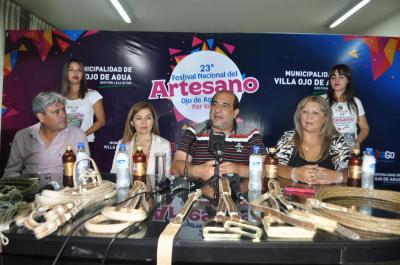 Presentan oficialmente la XXIII edición  del Festival Nacional del Artesano