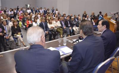 """El Gobernador Zamora encabezó el acto por el """"Día Mundial del Agua"""""""