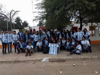 De La Cañada al Nodo Tecnológico para alentar a la Selección Argentina