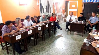 Concejales y autoridades policiales  debatieron sobre seguridad ciudadana
