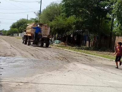 La municipalidad de Beltrán intensifica trabajos de limpieza