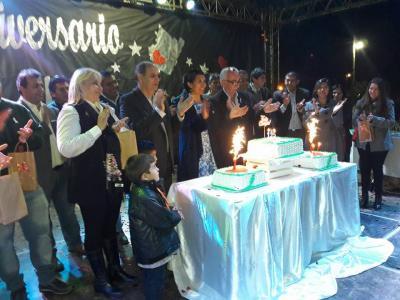 La Cañada celebró sus 125 años con un multitudinario festejo