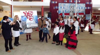 Emotivo homenaje a los héroes del  Ara San Juan en el aniversario de la patria