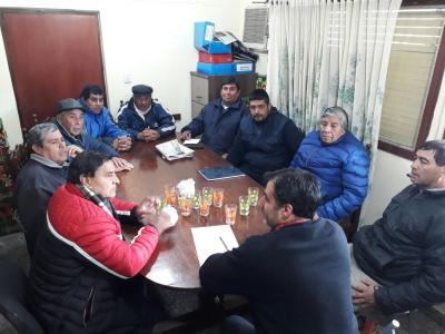 Los empleados municipales de Fernández percibieron el aguinaldo ayer