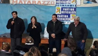 Norma de Matarazzo lanzó oficialmente su candidatura a intendente
