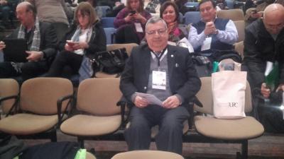 Médico de Fernández participó de una conferencia en Córdoba