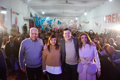 El Frente Cívico presentó a Norma Fuentes como candidata de la Capital