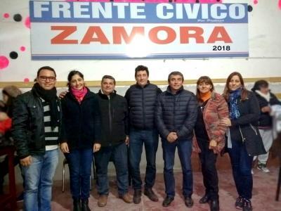 Garavaglia presentó a los candidatos que lo acompañaran en la lista