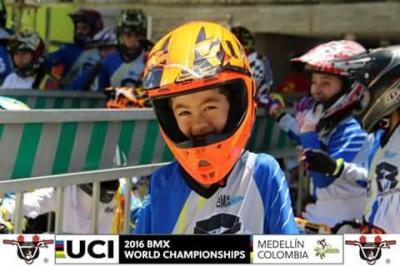 Competencia de BMX: Santy García vuelve a pisar suelo colombiano