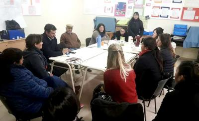 El intendente Matarazzo participó de una reunión de trabajo en el CIC