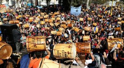 El PARLASUR declara de interés cultural a la Marcha de los bombos