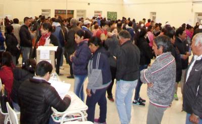 La votación cerró en Fernández con un 80% de participación