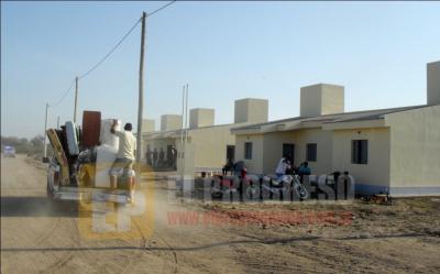Fernández: Adjudican 23 viviendas en el Barrio Cooperativa