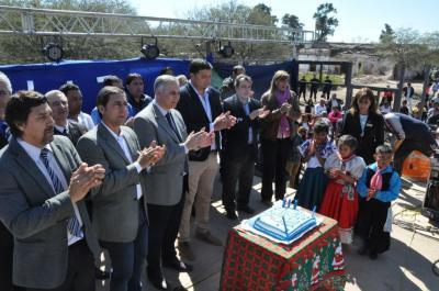 La localidad de Antajé celebro su 218° aniversario