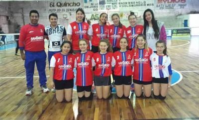 Voleibolista de Fernández representa a la Provincia en la Copa 3 Regiones