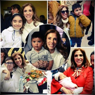 El Gobernador y su esposa saludaron a los niños santiagueños