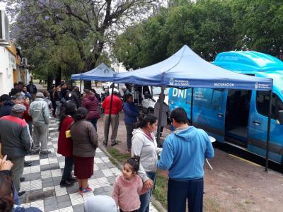 El Estado en tu barrio continuará en Fernández durante dos días más