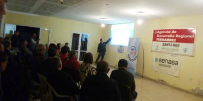 Productores de Fernández se informaron sobre DTV y RENSPA