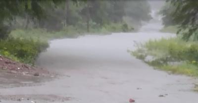 Caminos vecinales anegados el saldo de las abundantes lluvias