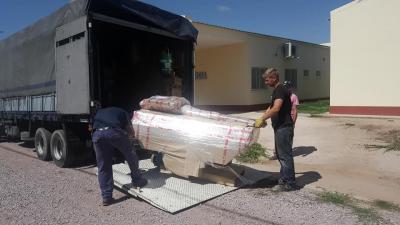 Una máquina de Rayos X se sumó al  equipamiento del nuevo hospital de San Pedro