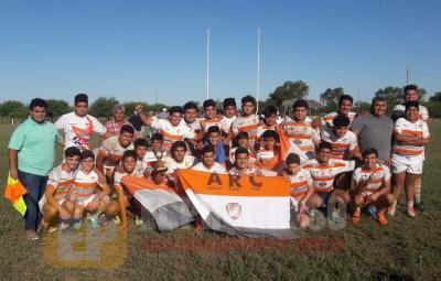 Amigos Rugby se consagró campeón del campeonato juvenil desarrollo