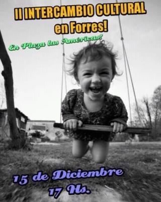 Este sábado se realiza el 2do. Intercambio Cultural en la plaza de Forres