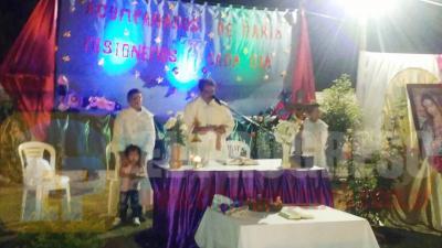 La Virgen de Guadalupe tuvo su fiesta patronal en Fernández