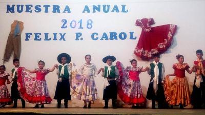 Alumnos de la Escuela Félix Patricio Carol cerraron el año con una espectacular muestra