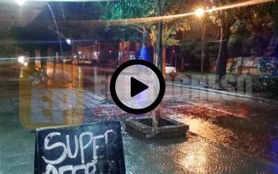 La lluvia trajo alivio a la Capital del agro
