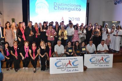 """Autoridades provinciales participaron de la entrega de los premios """"Changuito CyAC"""""""