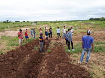 Realizan trabajos preventivos en diversas zonas del departamento Figueroa