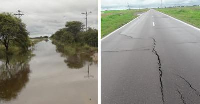 El Sureste santiagueño jaqueado por las lluvias