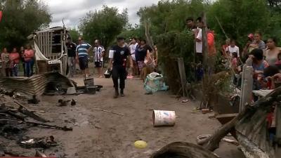 Tragedia: Dos niños mueren calcinados en La Banda al explotar una garrafa