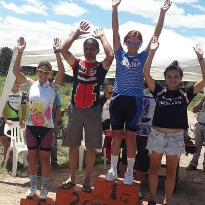 Moyano se subió al podio en Quimilí