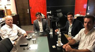 El CEO de Mega Alfalfa se reunió con el Ministro Brue y el Intendente de Forres