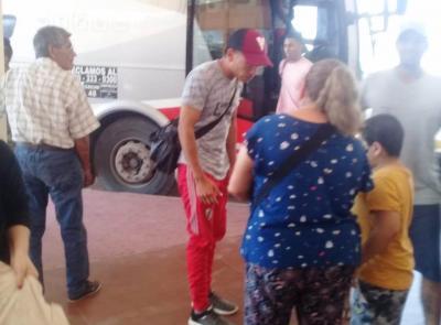 Más de 40 trabajadores migrantes de la zona de Añatuya  fueron rescatados en Mendoza
