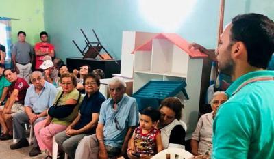 Continua desarrollándose el programa de visitas a barrios y parajes