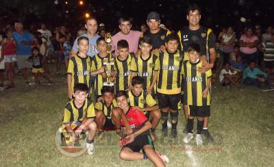 Con rotundo éxito culminó el Baby fútbol en Fernández