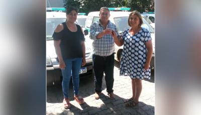 El Hospital Zonal de Fernández recibió una ambulancia 0Km