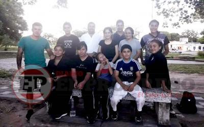 Crean una nueva escuela de Artes Marciales en el barrio Independiente