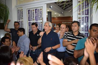 Neder fue reelecto como presidente del PJ Santiagueño