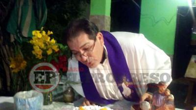 Oficiaron una misa en el barrio La Loma en honor a San José