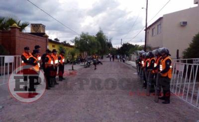 Amplio despliegue policial: más de cien efectivos brindaron seguridad en el Clásico