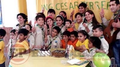 El Grupo Scout de Fernández celebró su primer año de vida