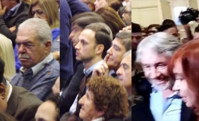 Referentes políticos del Departamento Robles asistieron a la presentación de Cristina