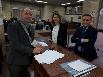 El Frente Cívico por Santiago presentó su Frente Electoral