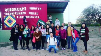 Estudiantes y docentes, en encuentro de la Cultura Quichua