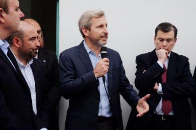 Zamora y Frigerio inauguran un barrio en La Banda