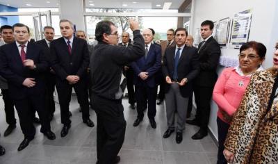 Inauguraron una sucursal bancaria en Brea Pozo