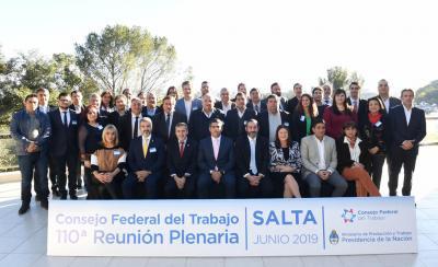 Se realizó una reunión plenaria del 110° Consejo Federal de Trabajo